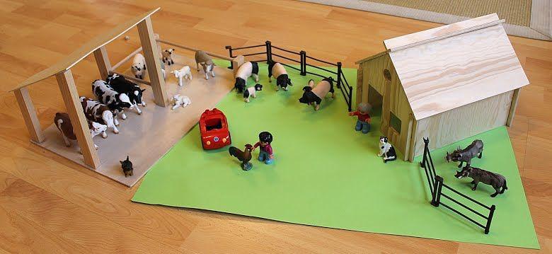 Anleitung inspiration zum bauernhof bauen kinderzimmer for Kinderzimmer playmobil