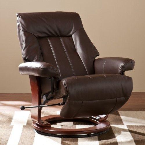 Awesome Southern Enterprises Foster Recliner With Hidden Ottoman Uwap Interior Chair Design Uwaporg