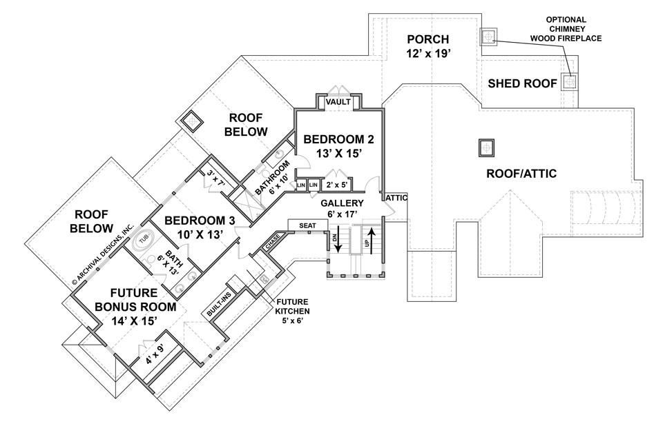Rocky Mountain Lodge Mountain House Plan Rustic Home Plan Archival Designs House Plans Mountain House Plans Rustic House Plans
