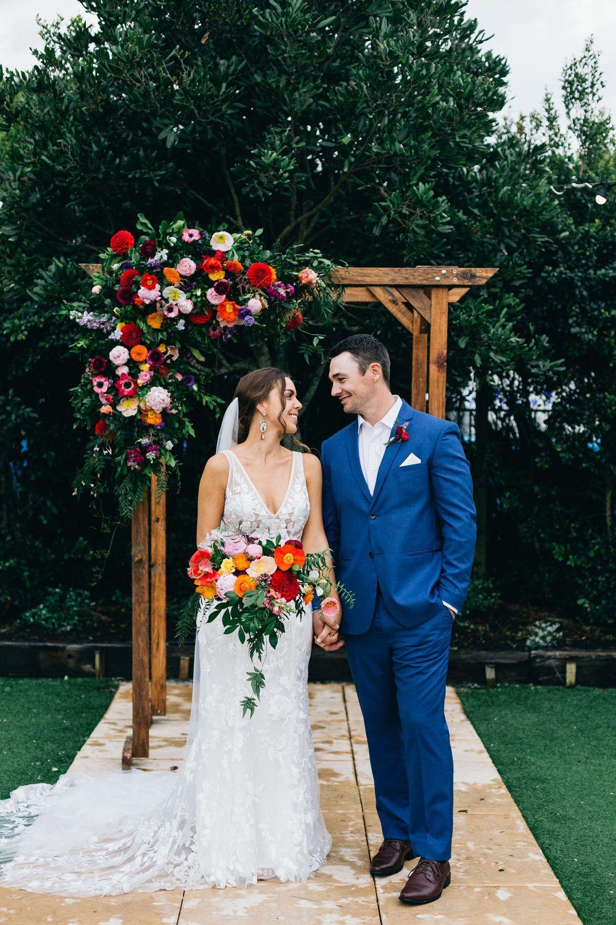 Nicole & Matthew's Bright & Elegant Wedding At Osteria
