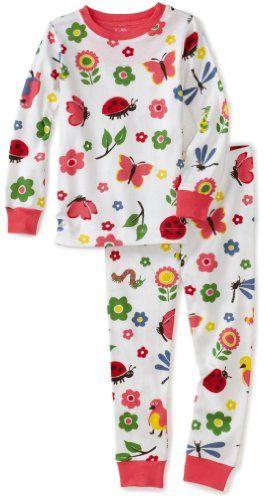 c276ab4447 Hatley Polo P.J. Set - Nordic Bug Girl s Pyjames  Amazon.co.uk  Clothing