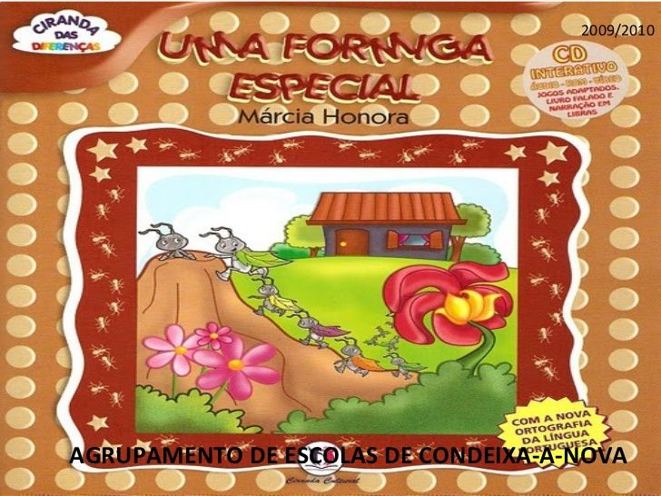Uma formiga especial(1.º ciclo).pps | Leitura na educação infantil, Livros sobre educação