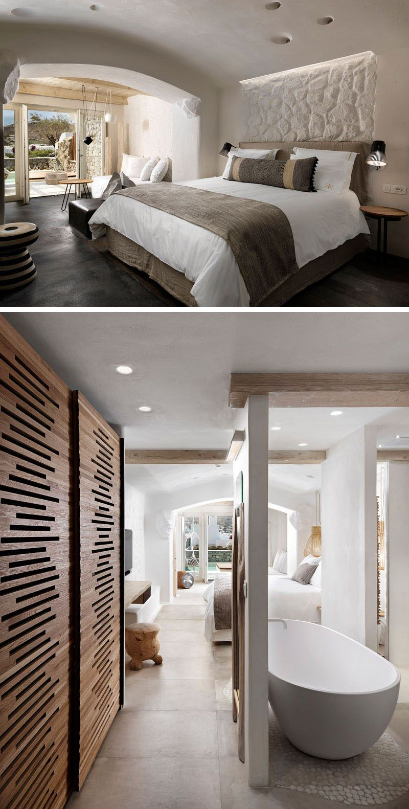 Zimmer im griechischen stil kensho a new boutique design hotel has opened its doors in mykonos