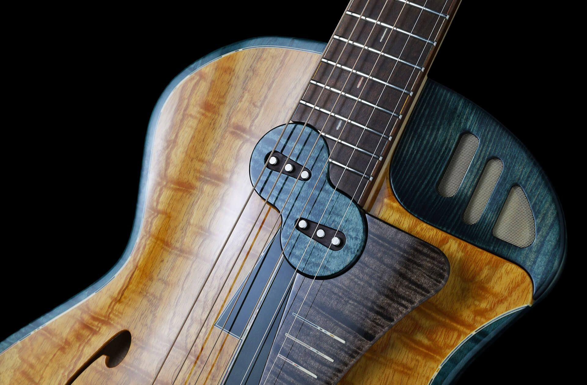 Jghg Takutack Guitar Guitar Design Custom Guitars