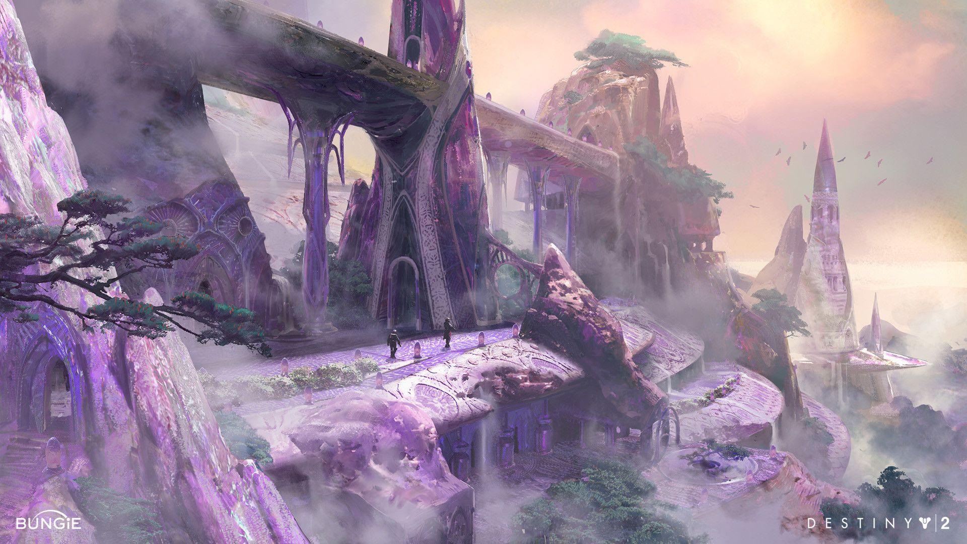 Artstation Destiny 2 Forsaken Dreaming City Dorje