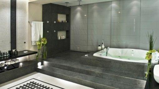 cuarto de baño estilo oriental   Decoracion cuartos de ...
