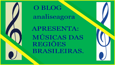 analiseagora: O Brasil tem diversos sons musicais regionalistas....