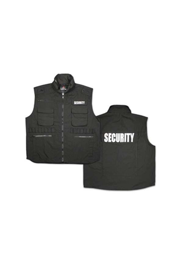 Black   Security   Ranger Vest 69f34f7a911