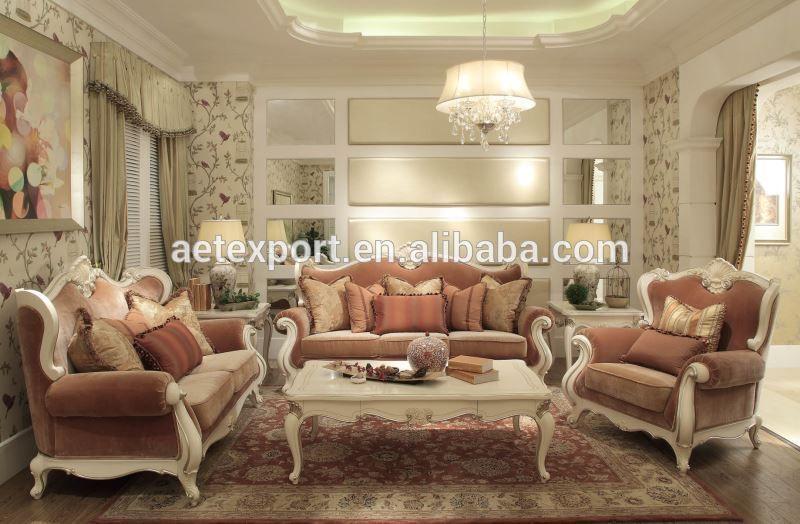 Luxe Fran Ais Baroque Canap Mobilier Design Classique Salon Canap Tissu Canap En Coupe Avec