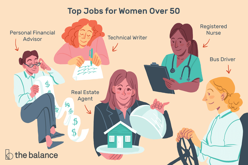 Top 10 Best Jobs for Women Over 50 in 2020 (With images