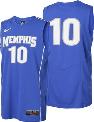online store f2971 55f76 Memphis Tigers Nike Royal Basketball Jersey | Tennessee ...