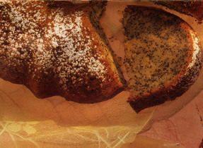 Gâteau à lorange et aux graines de pavot