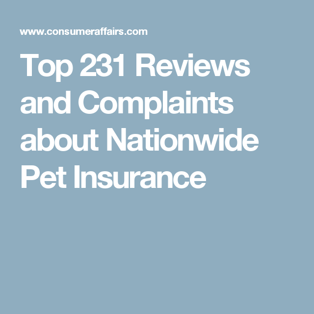Top 231 Reviews And Complaints About Nationwide Pet Insurance Dr Horton Homes Horton Homes Doctor