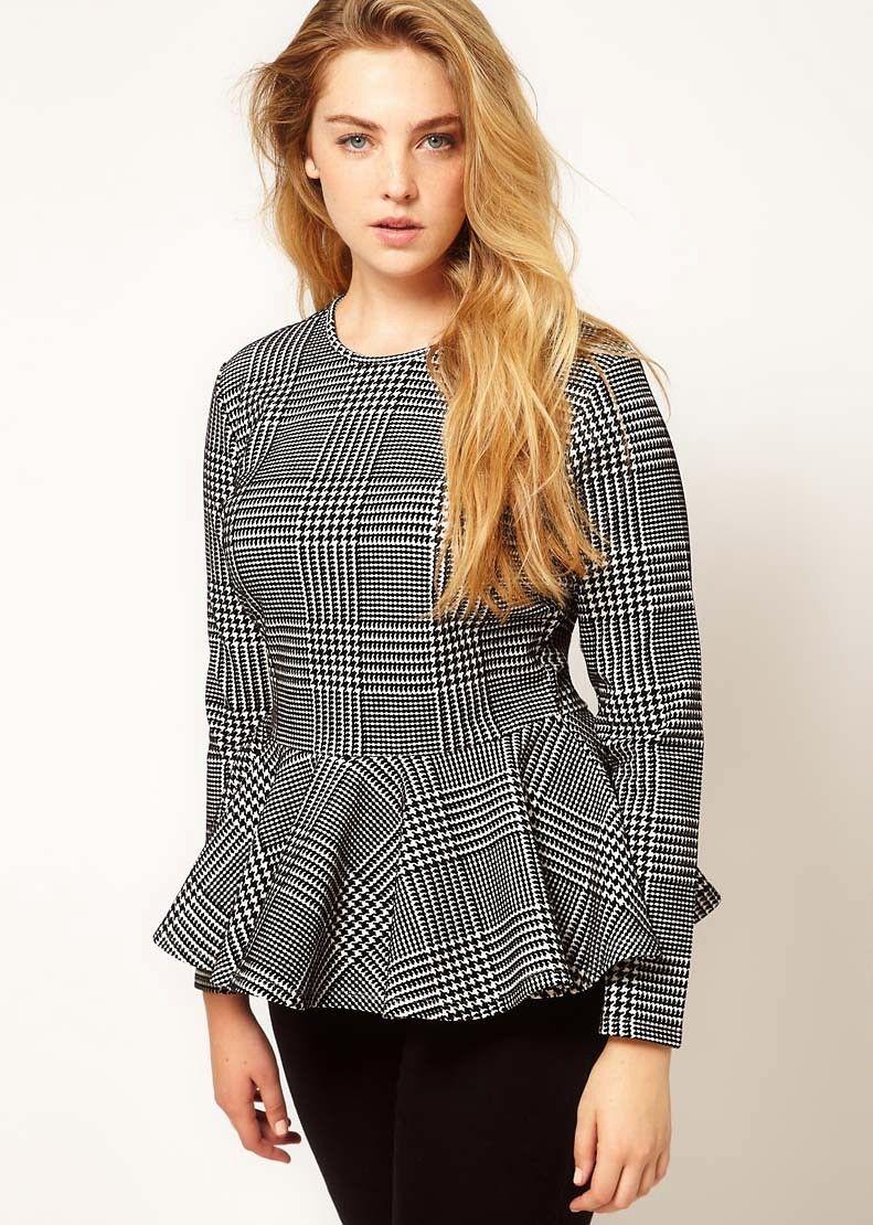 Блузки для полных женщин которые их стройнят выкройка фото 396