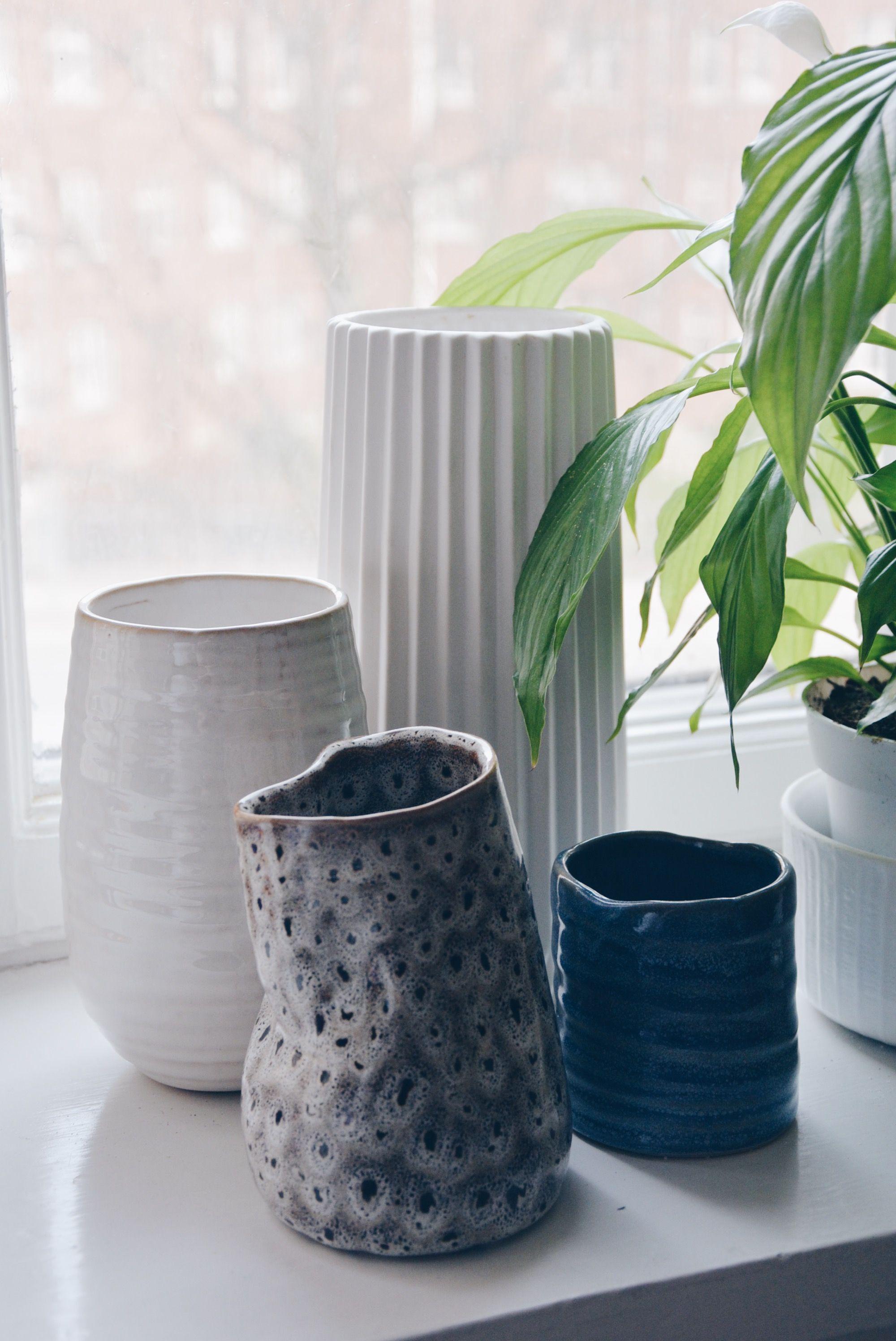 Small, pretty vases from Søstrene Grene. Interior. See