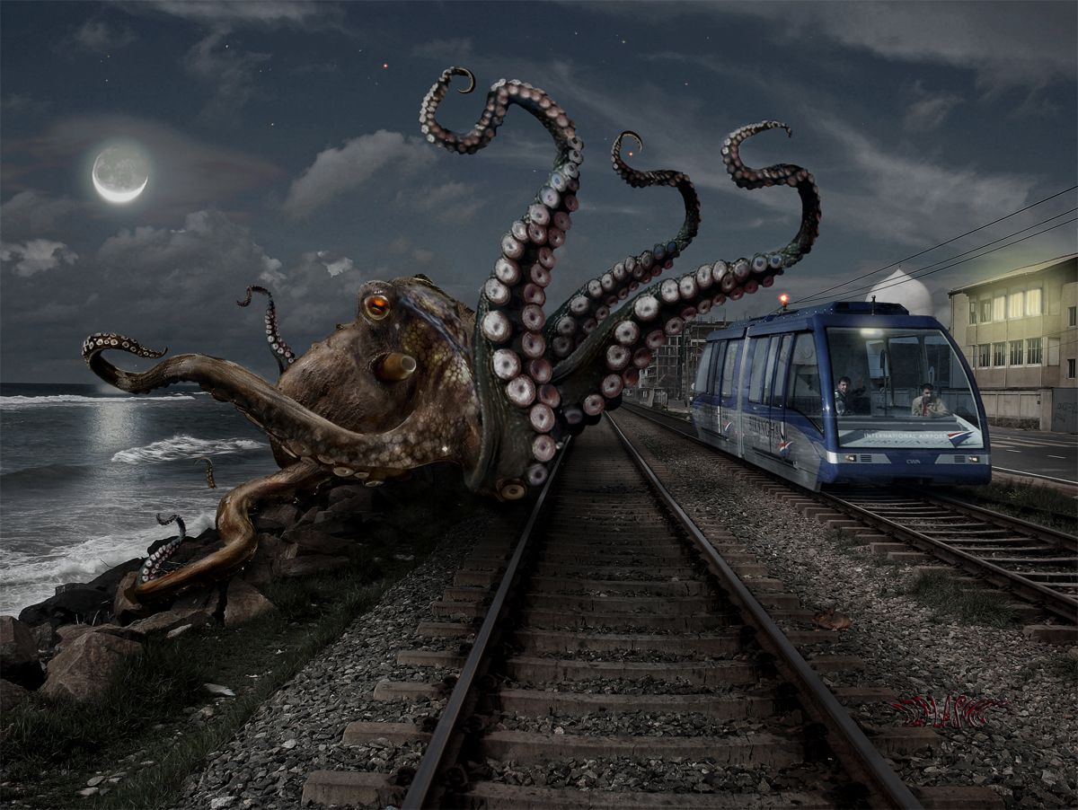 Kraken by ozplasmic.deviantart.com on @deviantART