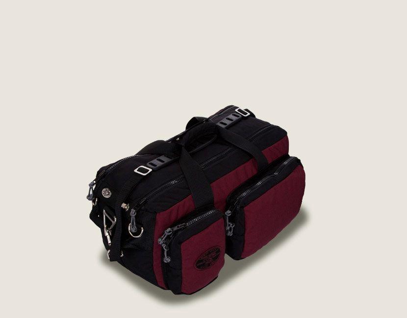 Burgundy Economy Roll Duffle Bag