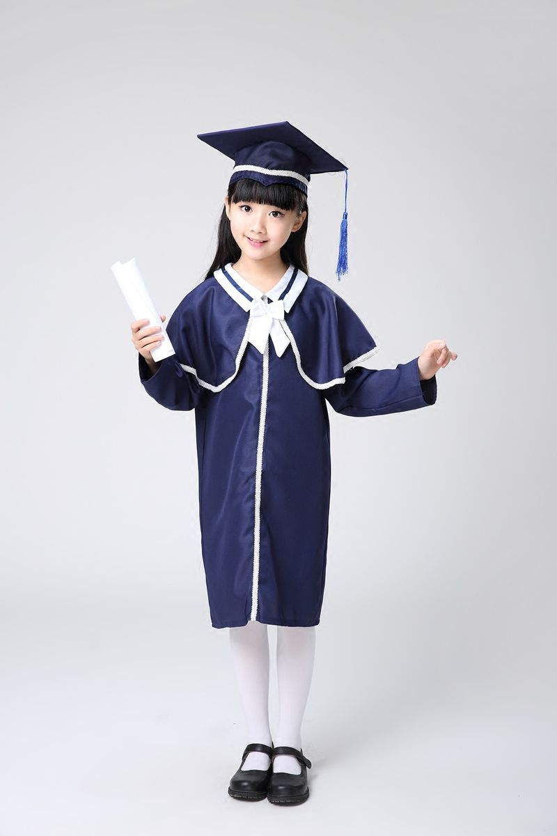 Kindergarten Primary Students Chorus Shawl Kids Academic Dress Girls ...