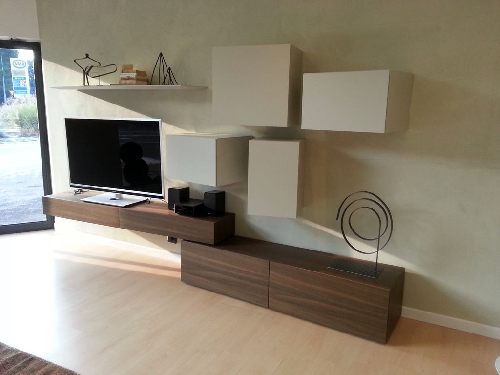 Soggiorno #Inclinart di #Presotto su www.outletmobili-italia.it ...