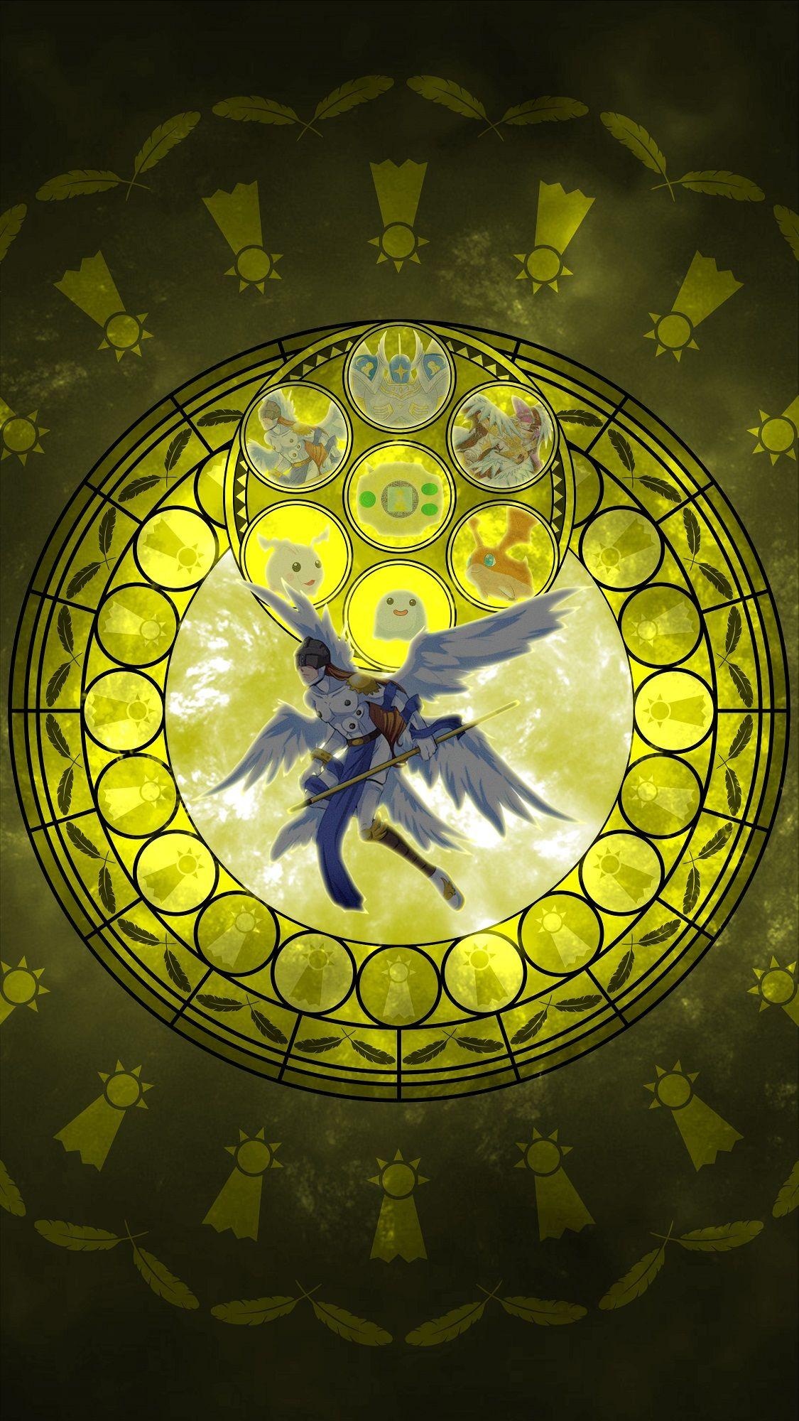 Angemon Evolution Line Kingdom Hearts Crest Of Hope