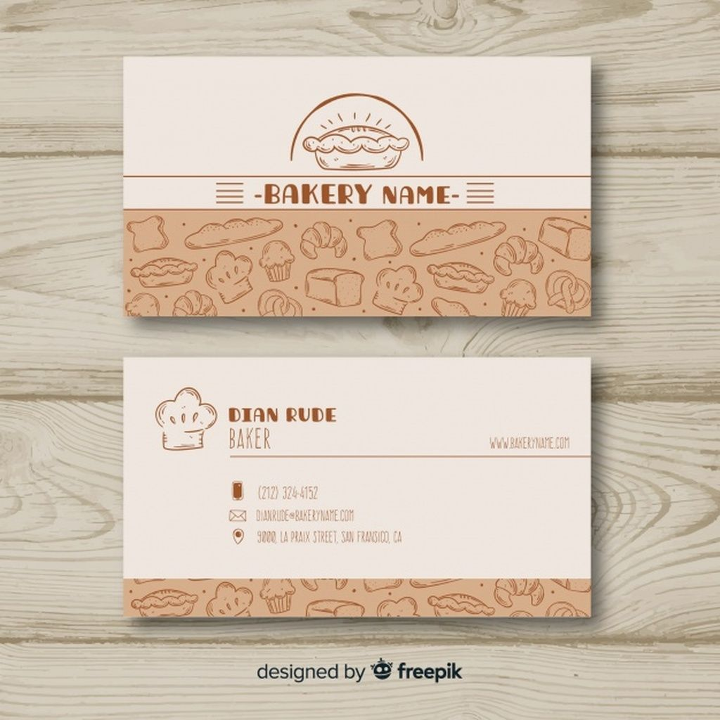 Lovely Hand Drawn Business Card Template Paid Sponsored Ad Drawn Template Free Business Card Templates Business Card Template Business Card Design
