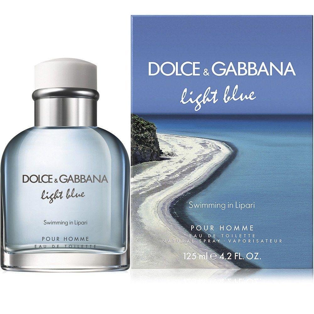 Light Blue Swimming in Lipari 4.2 EDT for men Lipari