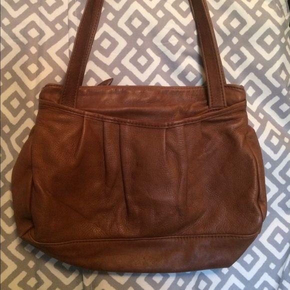 Sinikka 100 Australian Leather Bag Vintage