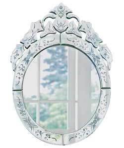 Venetian Oval Wall Mirror   Silver. Love Venetian Mirrors...perfect For The