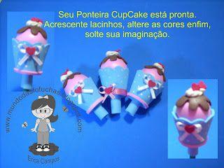 .: PAP e Molde Ponteira Cupcake
