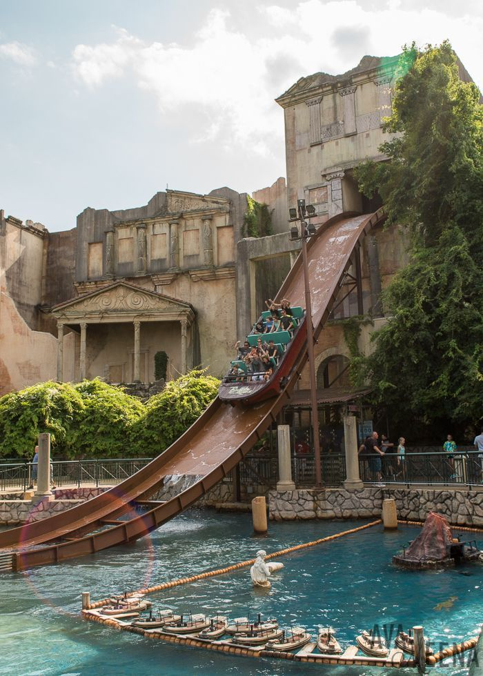 Escape From Pompeii Water Ride. | Busch Gardens Williamsburg: Ride Reviews  And Tips For Visiting.