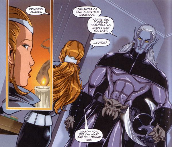 Lotor In the Comic - Prince of Doom