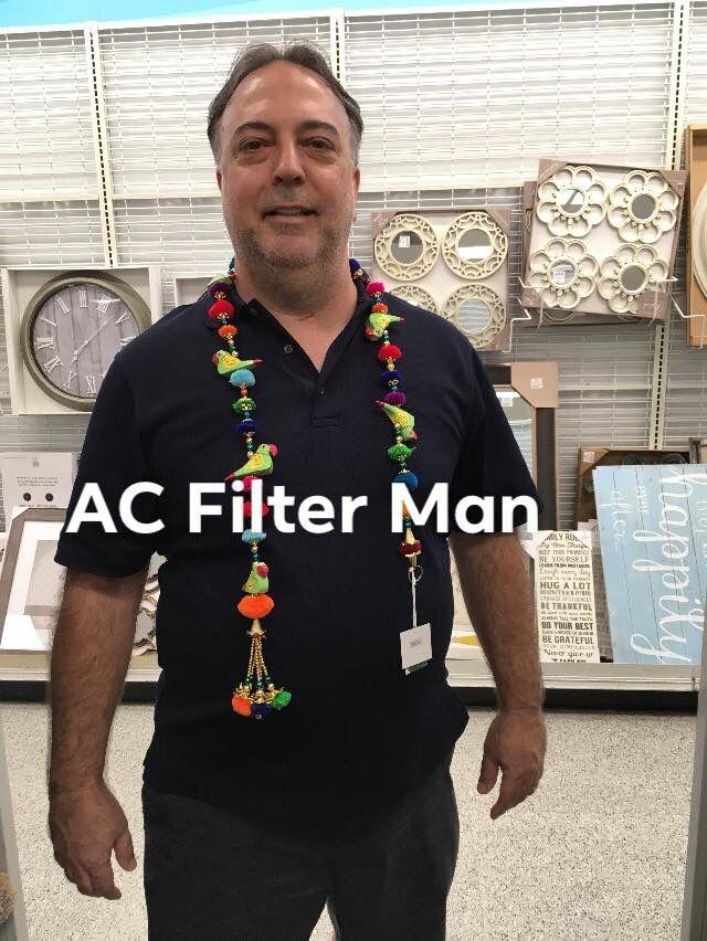 AC Filter Man Ac filters, Furnace filters, Indoor air