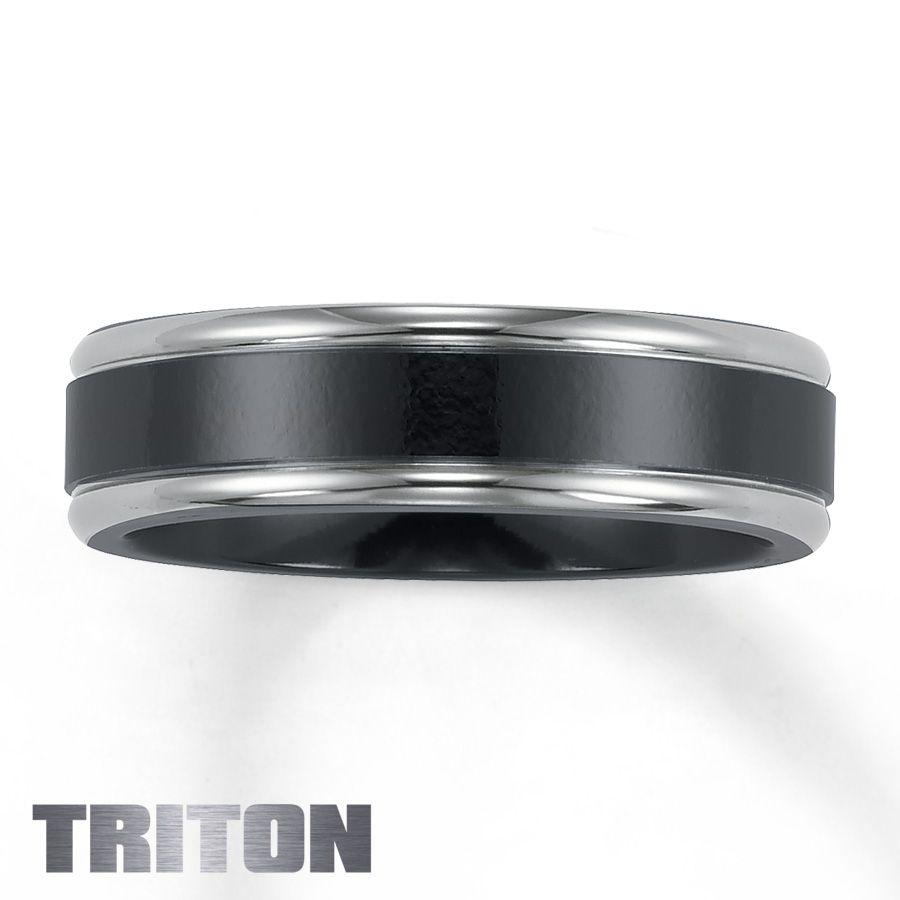 Jared Black Titanium Engagement Rings For Men Mens Wedding Bands Black Titanium Black Wedding Band