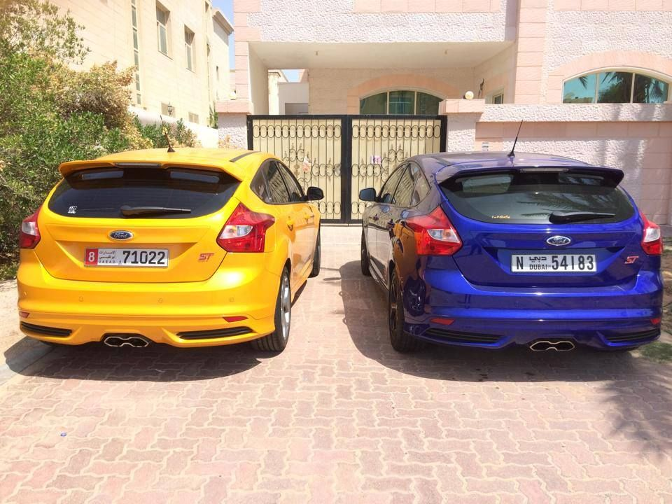 Which Color Would You Choose To Your Ford Focus St Ford Focus