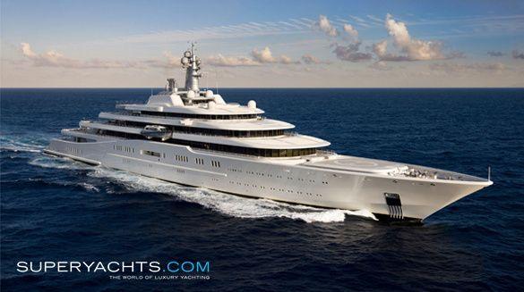 Superyacht abramovich  Superyacht 1 - Eclipse. Owner : Roman Abramovich (Owner of Chelsea ...