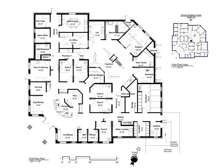 Floorplan | Building a Vet Practice - Floorplans
