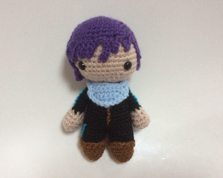 Amigurumi Doll Anime : Yato amigurumi noragami yato doll anime crochet yato character