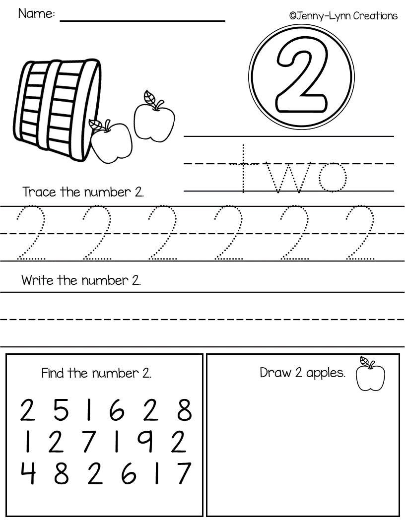 Looking For A Number Packet With A Variety Of Worksheets Check This Packet Out Perfect For Pre K A Preschool Worksheets Numbers Preschool Learning Worksheets [ 1056 x 816 Pixel ]