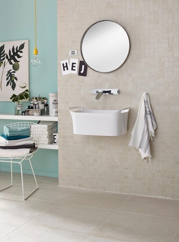 Zeitlose Fliesen Mit Trendfarben Kombinieren Bild 12 Badezimmer Dekor Badezimmer Planen Schoner Wohnen