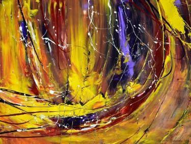 "Saatchi Art Artist Agnieszka Kukawska; Painting, """"The Stormy Sea"""" #art"