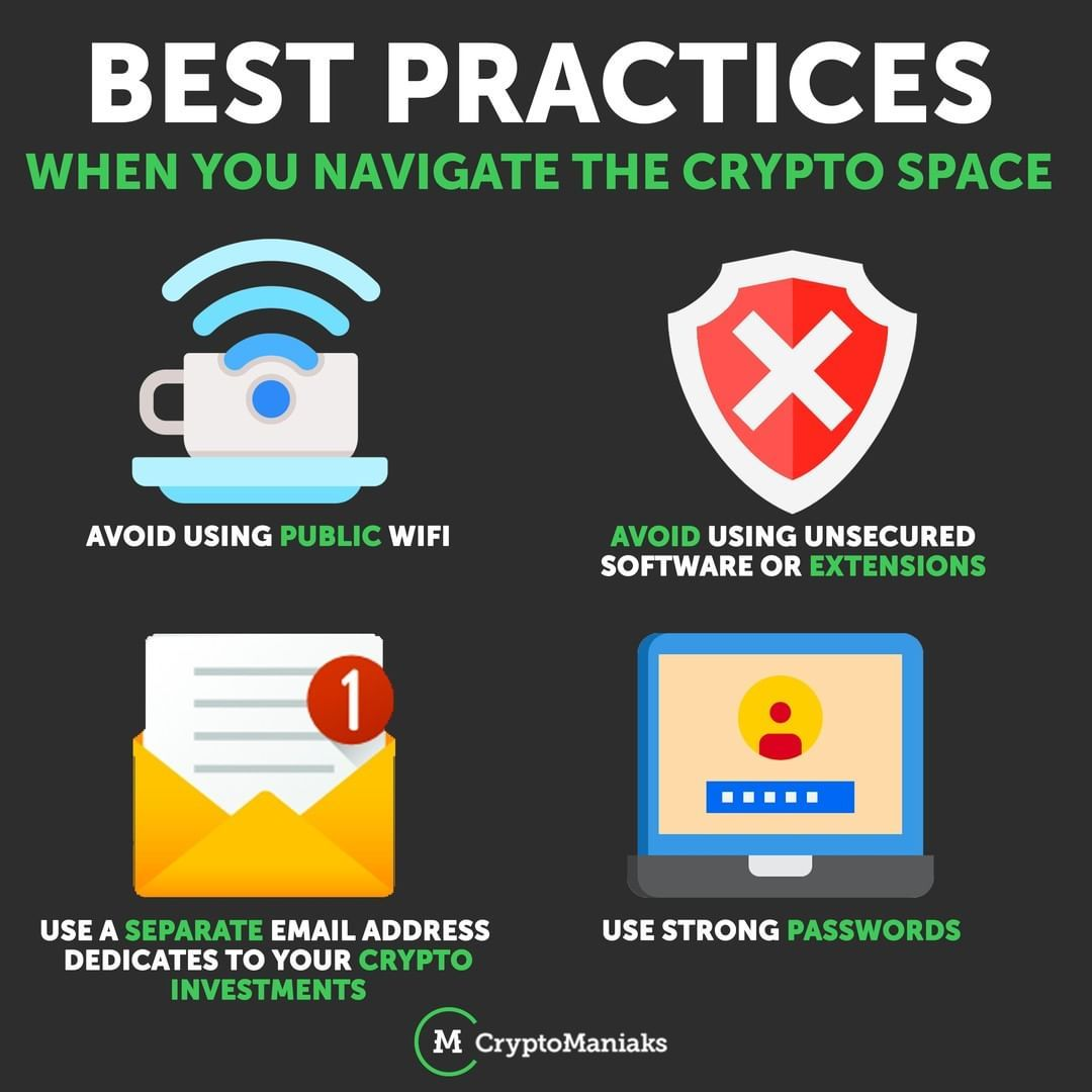 best practices cryptocurrency