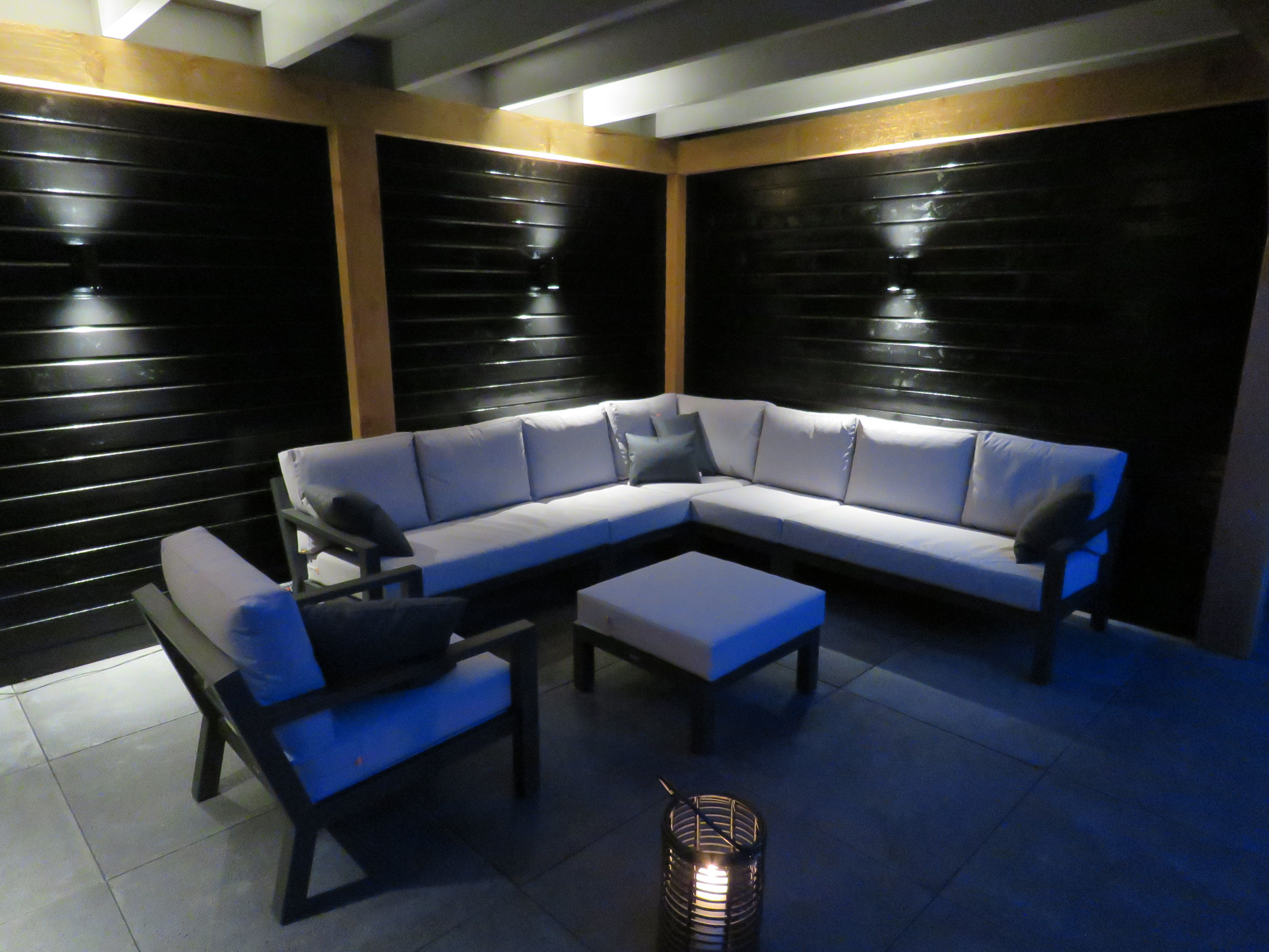 All Weather Kussens : Lounge set life timber lava muisgrijs all weather kussens