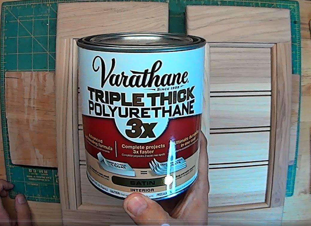 Varathane Satin Triple Thick Polyurethane Product Review Youtube Varathane Polyurethane Thick