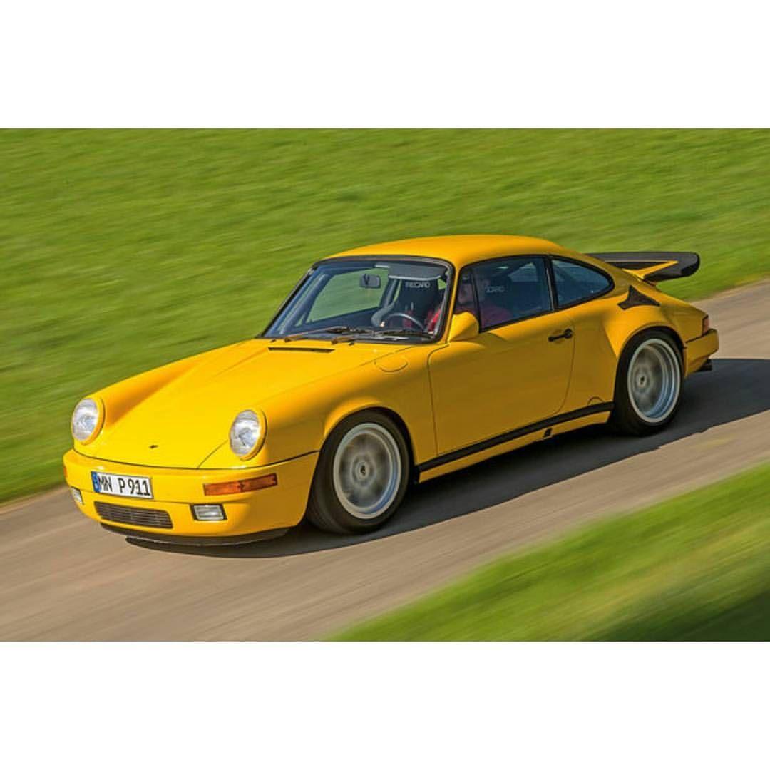 Porsche 911 Classic: Pᴏʀsᴄʜᴇ Аят — Yellow Bird