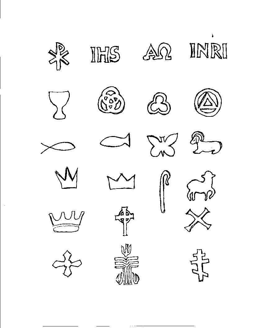 Faith Quest Rotation Lesson Sets Projects To Try Symbols