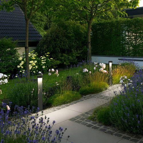 LED Garden and Pathway Bollard - B77263/B77264 Iluminación - iluminacion jardin