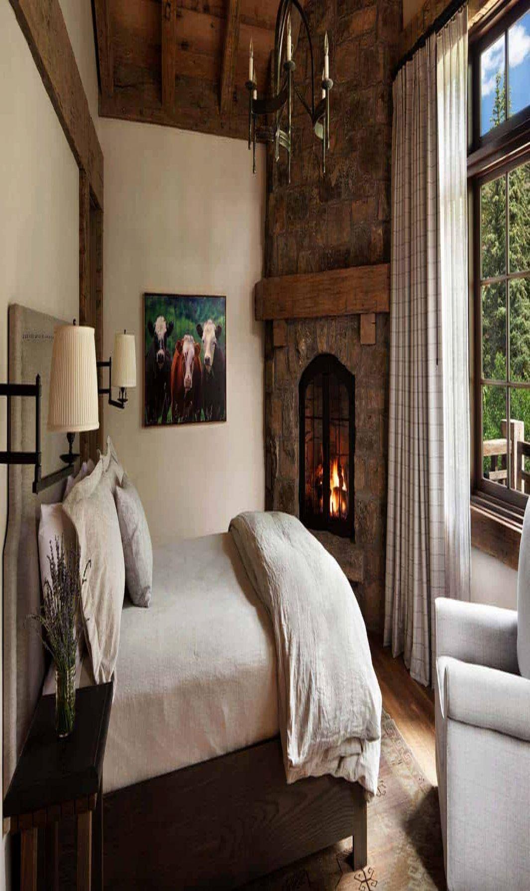 Best Bedroom Idea Cozy 40 Amazing Rustic Bedrooms In 2020