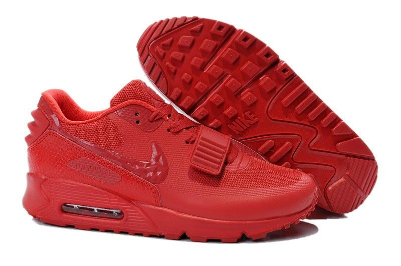 Nike Air Max 90 Air Yeezy 2 SP Unisex Shoe - All Red