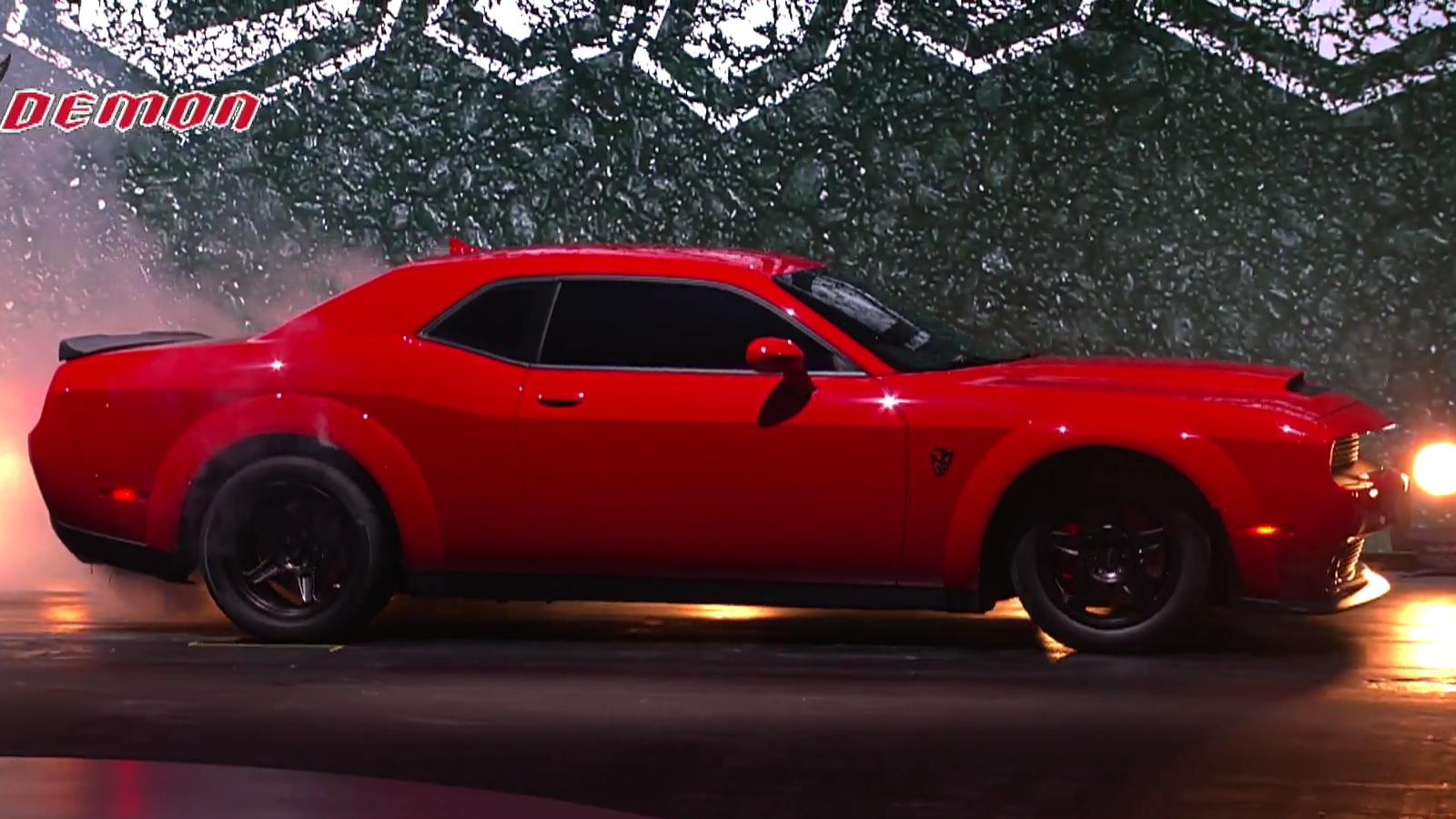 The 2018 dodge challenger srt demon is officially an 840 hp drag strip nightmare