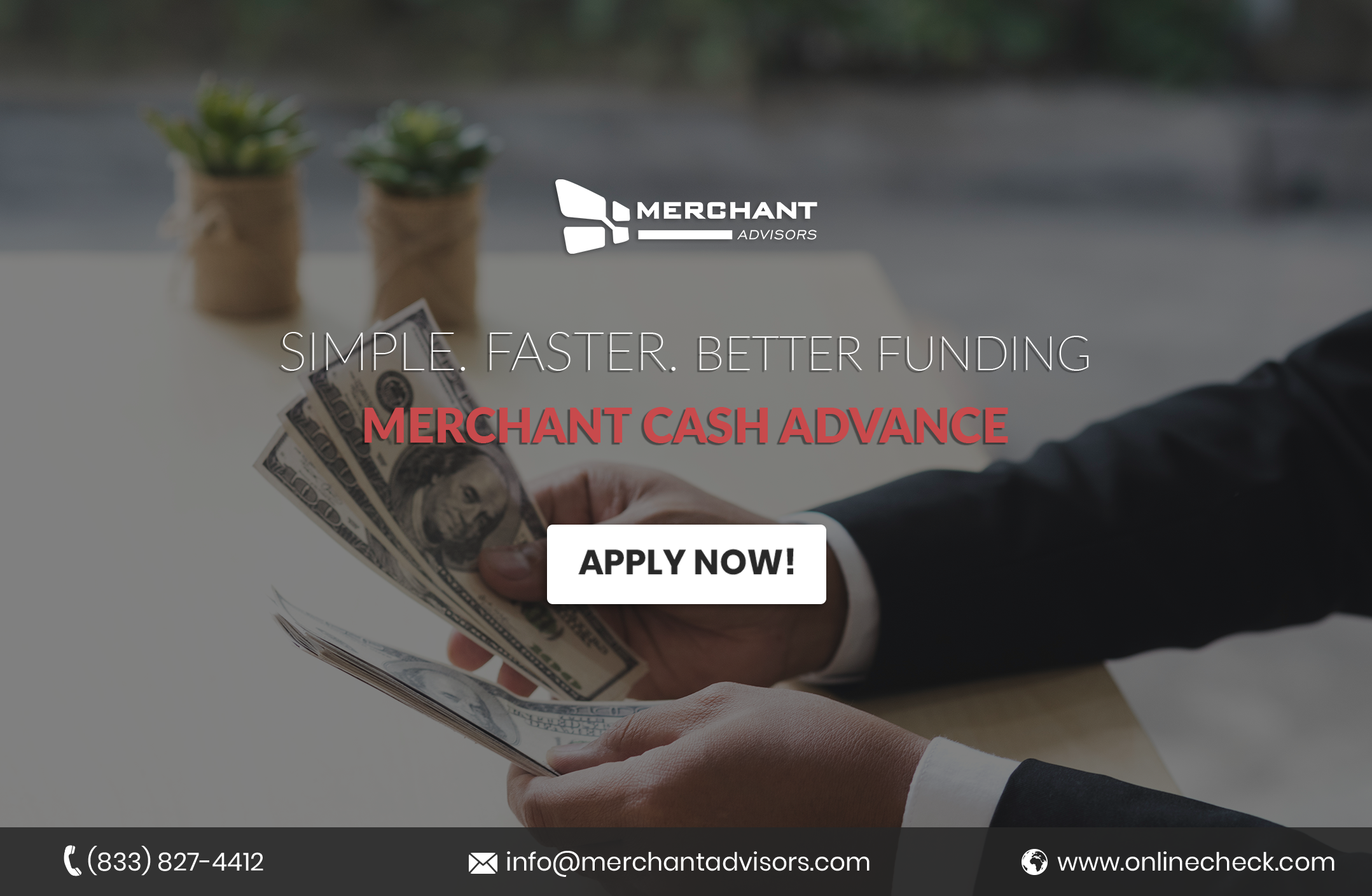 5 Reasons A Merchant Cash Advance Is Best For Your Small Business Quick Cash Payday Loans Business Cash Advance Payday Loans